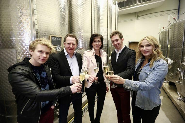 De Schryver, Karel en Tine Henckens, Robrecht Vanden Thoren en Karlijn Seleghem